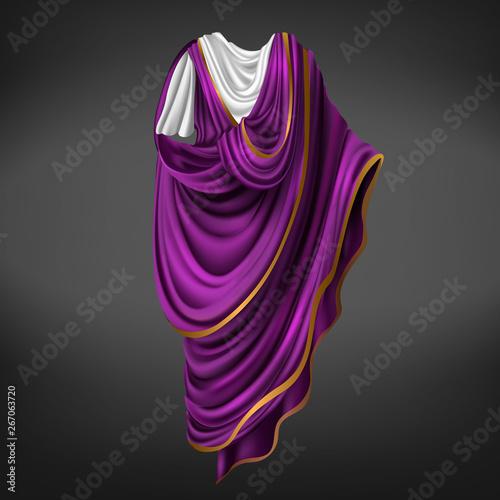 Roman toga  Ancient Rome commander or emperor dress male