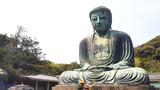 Great Buddha (Daibutsu) in Kōtoku-in,  Kamakura, Kanagawa Prefecture, Japan - 267092994