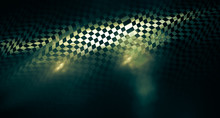 Interesting Speed Abstract Background In Techno Style. Futuristic, Suitable For Themes Of Progress, Technology, Unknown, Speed.