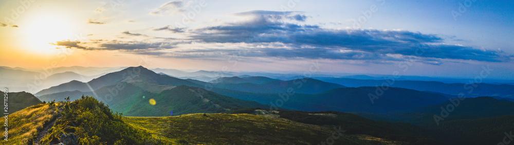 Fototapety, obrazy: Panorama Bieszczad