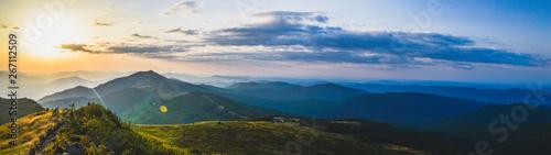 Panorama Bieszczad  - fototapety na wymiar