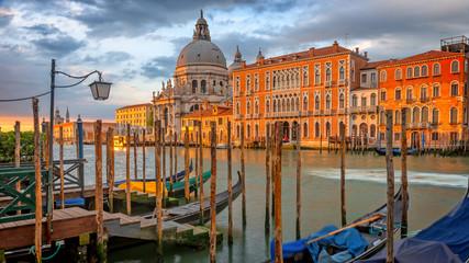 Panel Szklany Podświetlane Wenecja Venice, Canal Grande, Italy, Europe