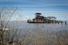 A Rusted Out Abandon Tug Boat ...
