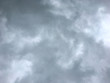 Leinwandbild Motiv Gray sky before the rain, Gray cloudy background