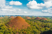 Chocolate Hills In The Bohol I...