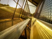 Angled Photo Of A Baseball Dug...