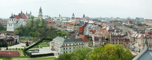 Lublin Old Town Panorama