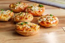 American Pizza Bagels