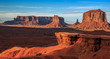 John Ford Point Sunset at Monument Valley
