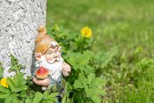 The Figure Of A Garden Gnome I...