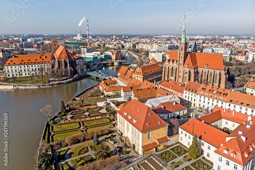 mata magnetyczna Wrocław- Ostrów Tumski