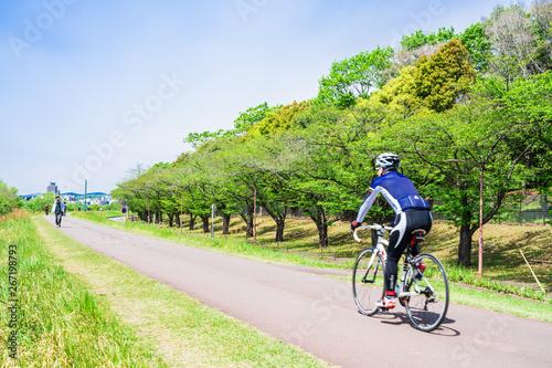 サイクリングイメージ 多摩川サイクリングロード
