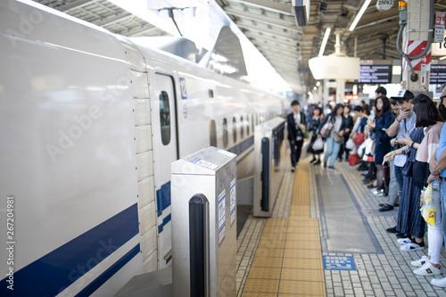 Türaufkleber Eisenbahnschienen 新幹線ホーム