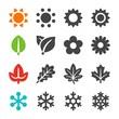 four season icon set