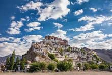 Thiksey Monastery In Ladakh, I...