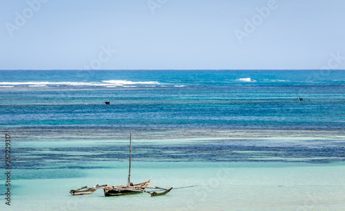 Photographie Amazing Diani beach seascape, Kenya