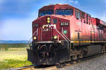 Kanadski crveni vlak