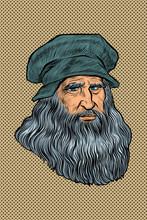 Leonardo Da Vinci, Italian Painter, Inventor And Sculptor