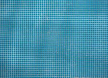 Blue Tiles Texture Background