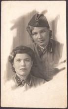 Portrait Of Soviet Girls Offic...
