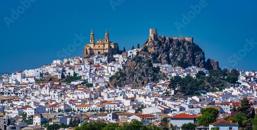 Fotografia Olvera white village in Cadiz province, Andalusia, Spain