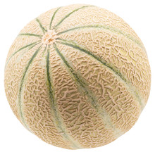 Melon Isolated On A White Back...