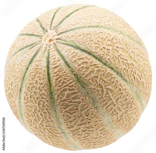 melon isolated on a white background #267269366