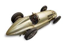 Historic Race Car, Isolated On...