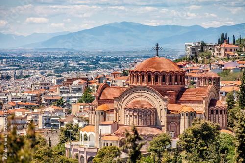 Fotografía  Saint Paul Church, Panoramic View, Thessaloniki city, Greece