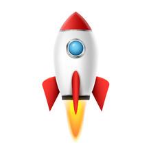 3d Rocket Space Ship Launch Ba...