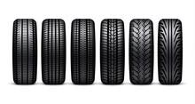 Car Tire Wheel Isolated Illust...