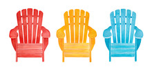 Colorful Outdoor Lounge Chair ...