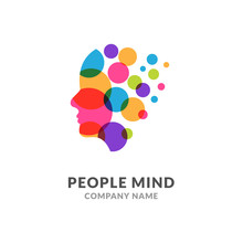 Human Head Face Logo, Creative...