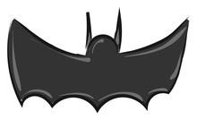 Image Of Batman - Symbol, Vector Or Color Illustration.