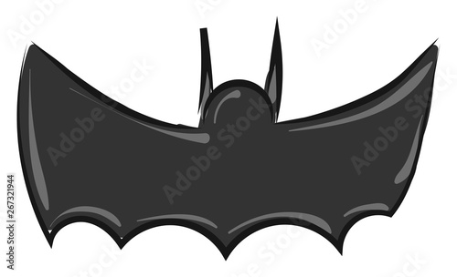 Fotografie, Tablou  Image of batman - symbol, vector or color illustration.