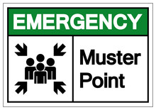 Emergency Muster Point Symbol ...