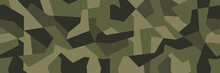 Vector Geometric Camouflage Se...