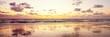 Sonnenuntergang Nordseeküste - Banner
