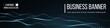 Computer vector banner. Business banner design EPS 10