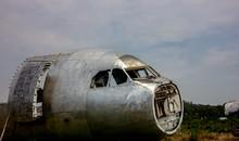 Passenger Plane Wreck