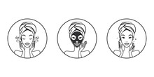 Face Mask Icon Instructions Fo...