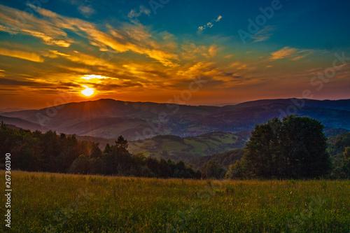 Cadres-photo bureau Campagne Beskid Wyspowy - Góry Karpaty