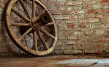 The Old Wheel Of The Cart