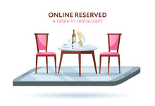 3d Restaurant Online Booking C...