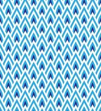 Blue Waves Lines Seamless Desi...