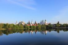 Kremlin In Izmailovo In Moscow...