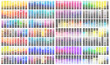 Colour reference swatch palette