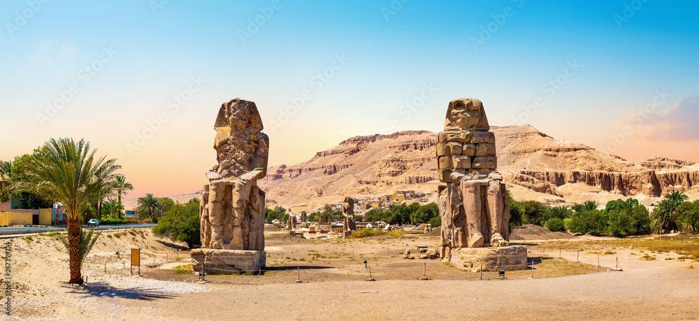 Fototapeta The Colossi of Memnon