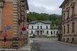 Blick auf den Bahnhof von Greiz