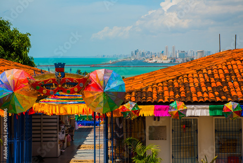 Foto  Olinda, Brazil: A view of the Handicraft's Market in Olinda's historic center, c